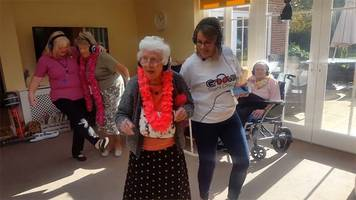 Silent disco for Hertfordshire dementia care home residents