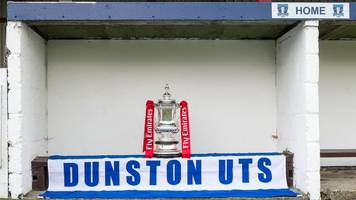 FA Cup: Paul Gascoigne's good luck message to Dunston UTS