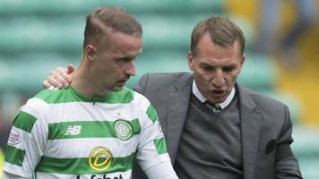 leigh griffiths right to put fitness before scotland - brendan rodgers