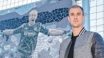 Joe Hart: Man City name training pitch after their former goalkeeper