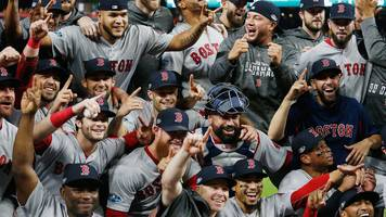 World Series: Boston Red Sox defeat Houston Astros to win American League pennant