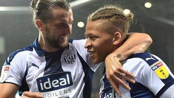 wigan athletic v west bromwich albion