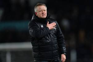 chris wilder on frank lampard, style of football and not being surprised by derby county's start