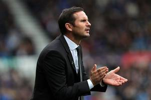 frank lampard stresses importance of derby county's next three matches