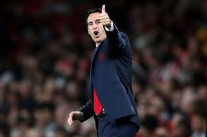 arsenal boss unai emery looks ahead to leicester city clash