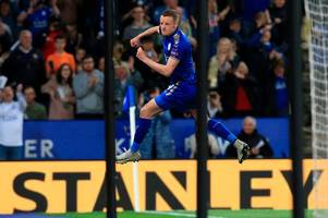 unai emery admits leicester city's 'very good' jamie vardy will pose big threat to arsenal