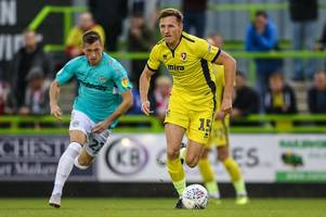 Cheltenham Town's former Huddersfield Town defender Will Boyle: Trophy defeat at Forest Green Rovers was embarrassing for everyone and we need to put it right