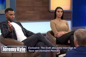 Former Stoke City player Jermaine Pennant REFUSES to take lie detector test on Jeremy Kyle Show following CBB scandal
