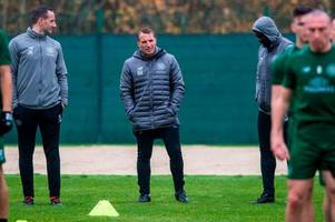 6 things we spotted from celtic training as leigh griffiths misses out