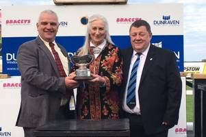 dunraven group the new sponsor of welsh champion hurdle at ffos las