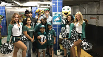 Eagles Fan Who Ran Into Subway Pole Scores Free Tickets to London Game