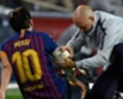 barcelona show steel after messi's injury blow in strong start to key week
