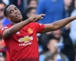 'how is he not in france squad?' - martial 'world class' in the eyes of man utd team-mate young