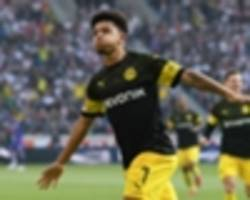 Sancho airs 'big ambitions' after netting for Borussia Dortmund