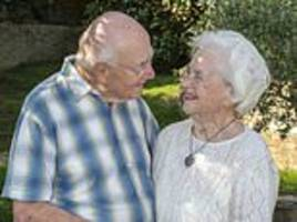 Couple celebrate 70th anniversary after meeting during WWII