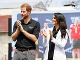 Prince Harry and Meghan Markle's packed schedule on Day 1 of the Invictus Games