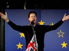 quenting letts: nick clegg is a slippery hypocrite