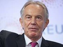 Saudi Arabians paid £9million to Tony Blair's self-styled crusade for global change