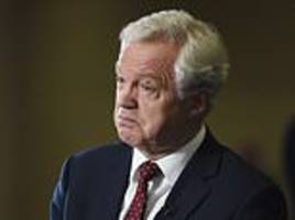 Former Brexit secretary David Davis threatens No Fly Zone for EU planes in UK airspace
