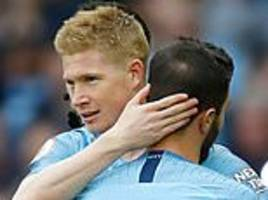 kevin de bruyne ready to make immediate impact after injury return, says pep guardiola