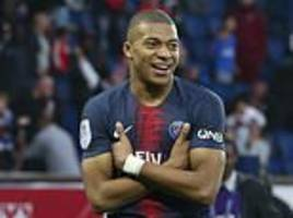 paris saint-germain 5-0 amiens: french champions hammer visitors to make it 10 wins out of 10