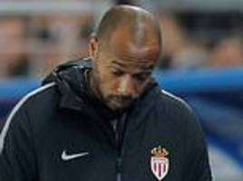 Strasbourg 2-1 Monaco: Thierry Henry loses first game in charge