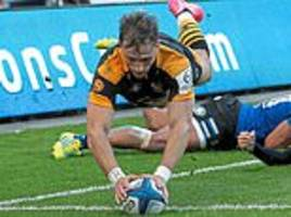 wasps 35-35 bath: both sides put on a super show in 10-try thriller