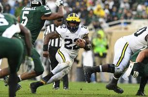 No. 6 Michigan handily defeats rival No. 24 Michigan State, 21-7