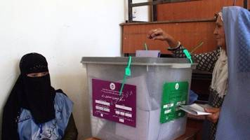 Afghanistan polls: 'Voting is an act of bravery'