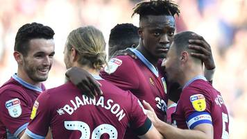 Aston Villa win first game under new boss Smith