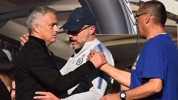 Chelsea 2-2 Manchester United: Maurizio Sarri says Blues in 'wrong' over Jose Mourinho bust-up