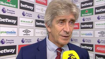 West Ham United 0-1 Tottenham Hotspur: Manuel Pellegrini pleased with Hammers' performance