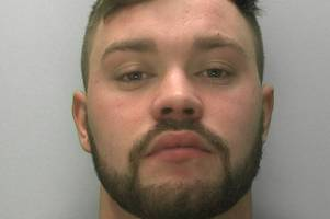 man from gloucestershire attacked girlfriend after she got in the way of him taking a selfie in london