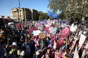 People's Vote campaigners from Stoke-on-Trent among hundreds of thousands who took part in London march