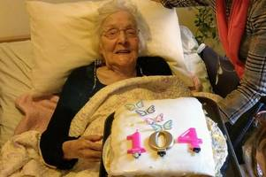 is this grimsby woman arsenal's oldest supporter? faithful fan celebrates 104th birthday surrounded by friends and family