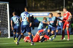 Wycombe Wanderers 3 Scunthorpe United 2: Iron fall to third consecutive defeat after surrendering two goal advantage
