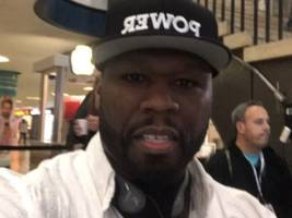 """50 cent shares footage from """"power"""" season 6 filming at ny penn station"""