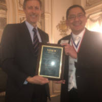 medical society of the district of columbia honors neal barnard, m.d., f.a.c.c.