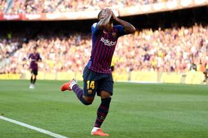 Arsenal register interest in signing Barcelona winger Malcom on loan in January - report