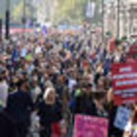 670,000 anti-Brexit campaigners march in London calling for second referendum