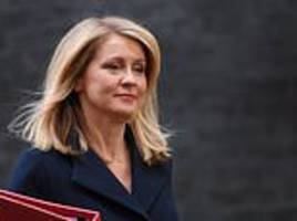 'all she knows is how to blow dry her hair': treasury attack on welfare chief esther mcvey