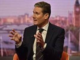 keir starmer warns theresa may labour won't come and save her deal