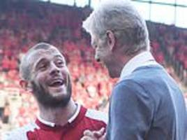 jack wilshere says he would have stayed at arsenal had arsene wenger decided not to leave the club