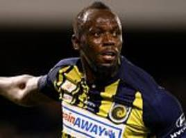 Usain Bolt offered contract by Central Coast Mariners