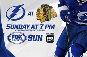 Preview: Lightning's road trip shifts to Chicago for showdown with Patrick Kane, Blackhawks
