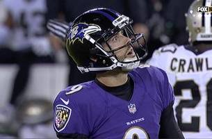 Justin Tucker's missed extra point costs Baltimore in 24-23 loss to New Orleans