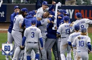 watch the best 60 seconds from brewers vs. dodgers nlcs game 7 | #october60