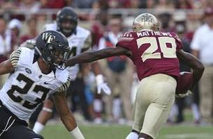 Florida State pulls away to beat Wake Forest 38-17