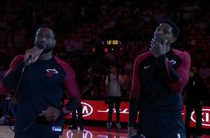 It's all about the culture: Dwyane Wade, Udonis Haslem thank Heat fans before home opener