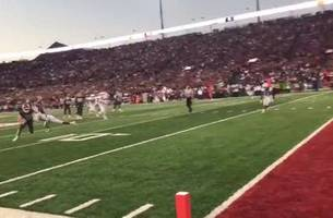 Washington State's ankle-breaking 4th TD is even filthier from the sidelines | FOX FIELD PASS